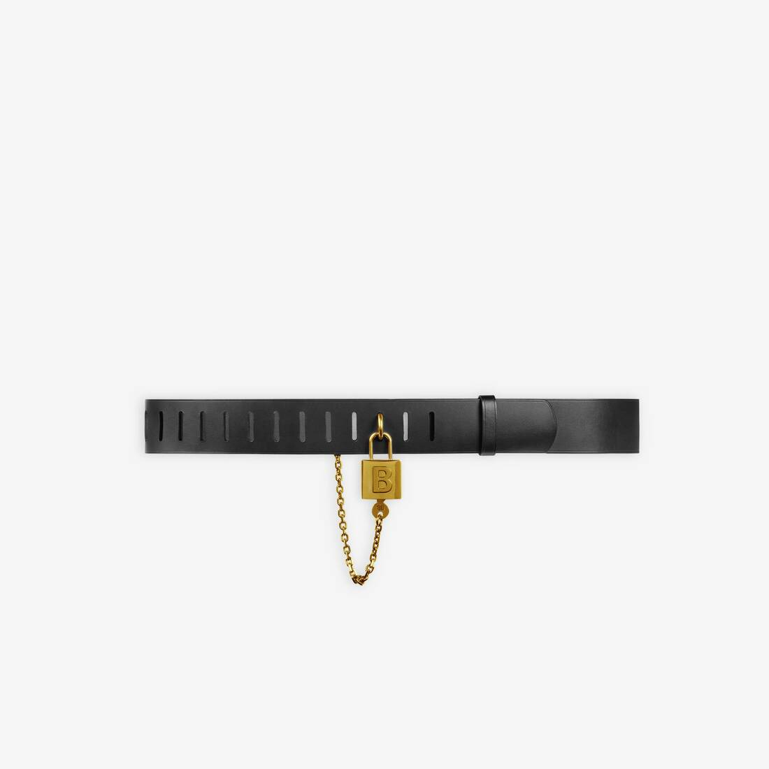 Display zoomed version of leather locker belt 1