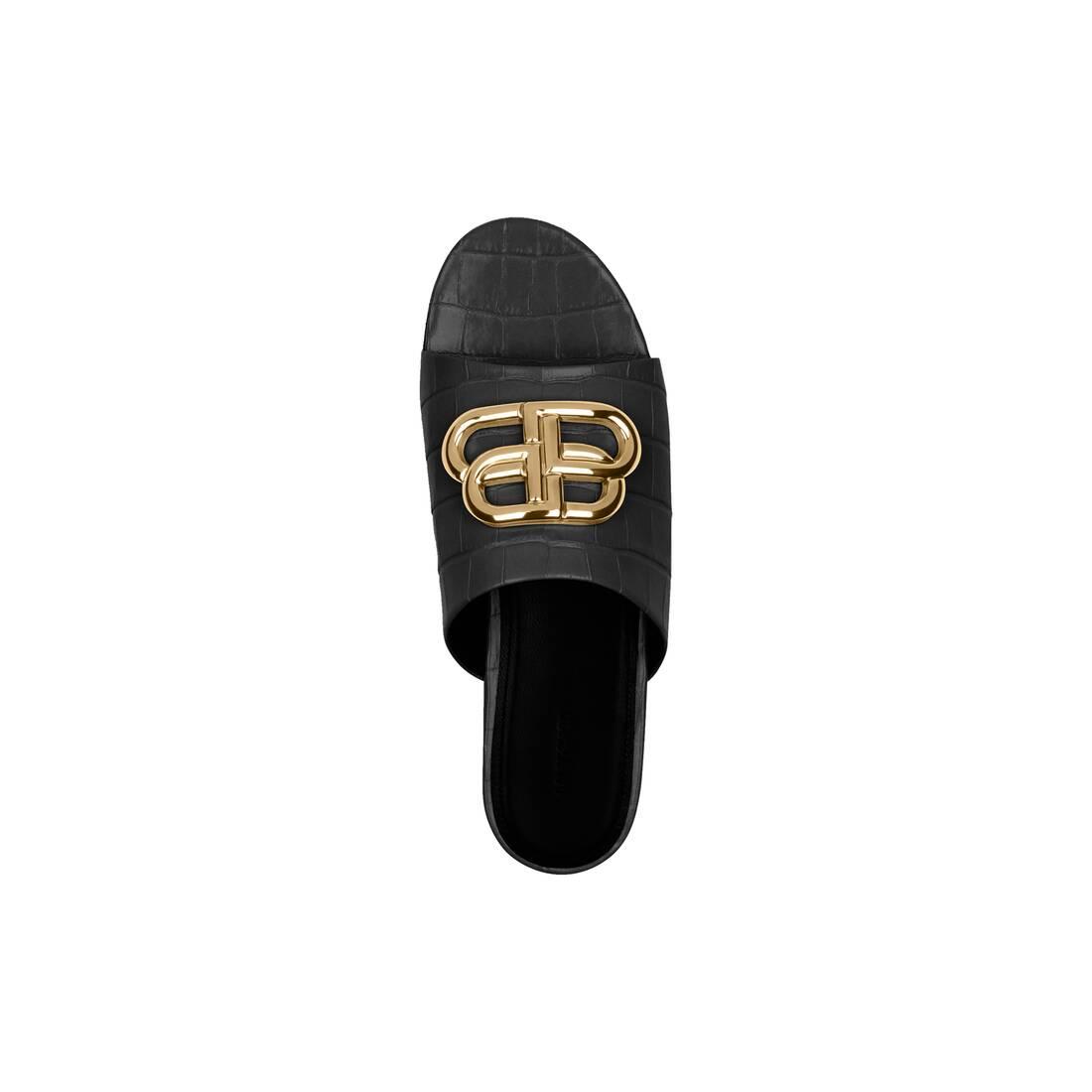 Display zoomed version of oval bb slide sandal 4