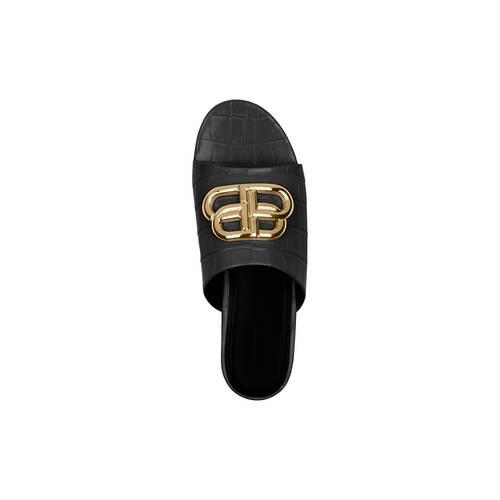 oval bb slide sandal