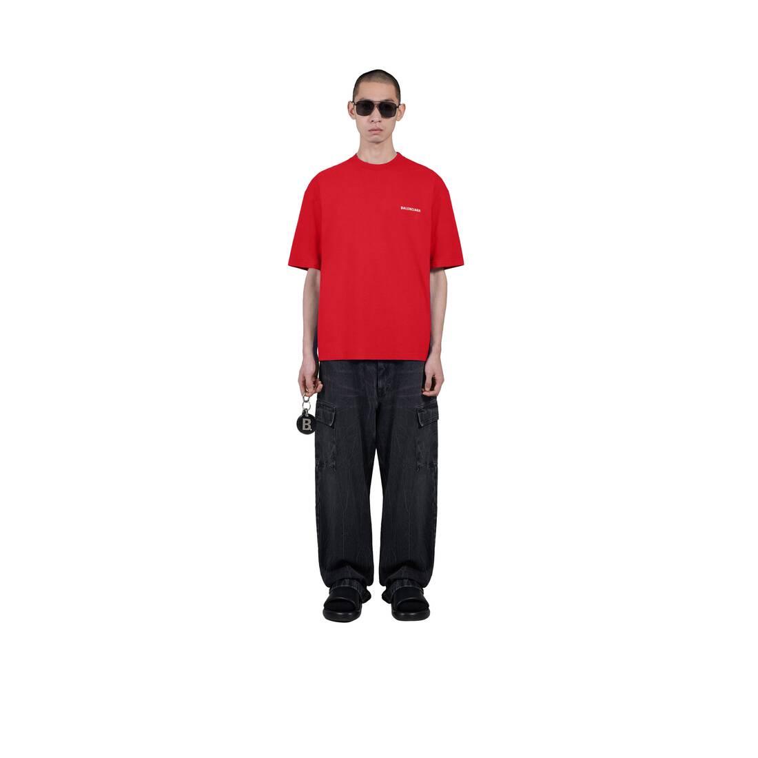 Display zoomed version of logo medium fit t-shirt 6