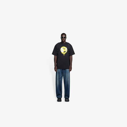 drip peace large fit t-shirt