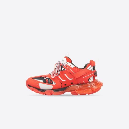 track clear sole sneaker