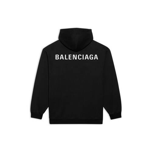 logo medium fit hoodie