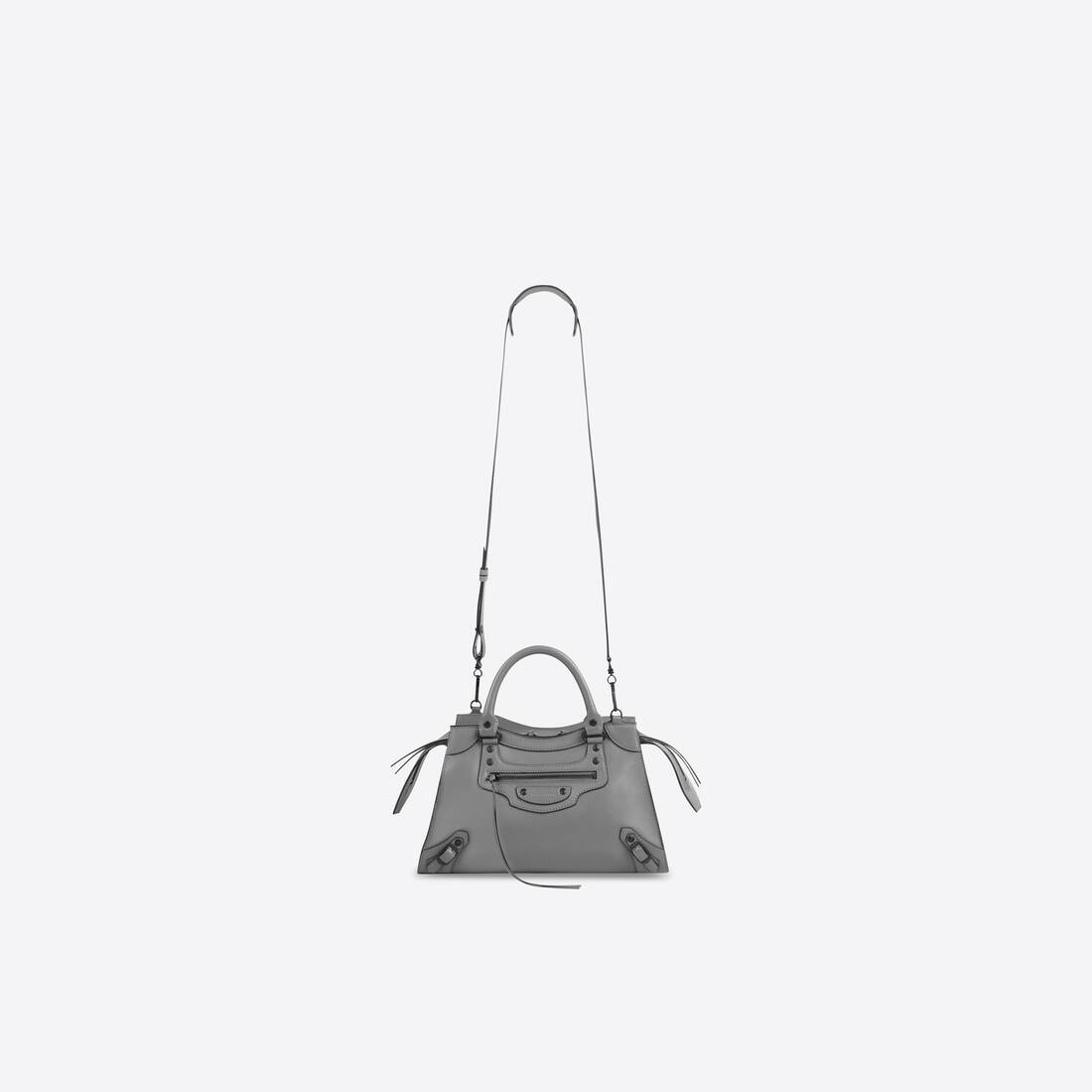 Display zoomed version of neo classic small top handle bag  4
