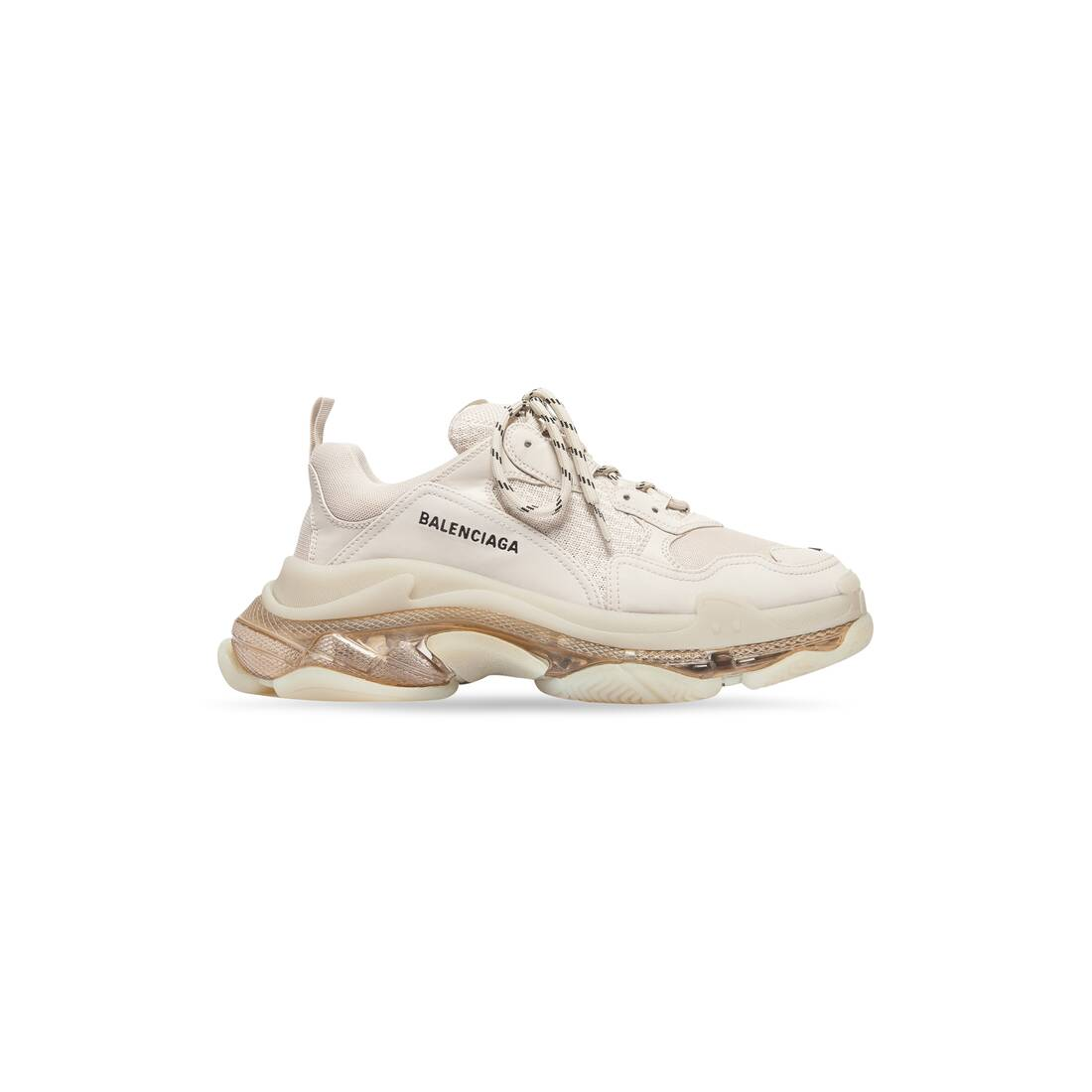 Display zoomed version of triple s clear sole 1