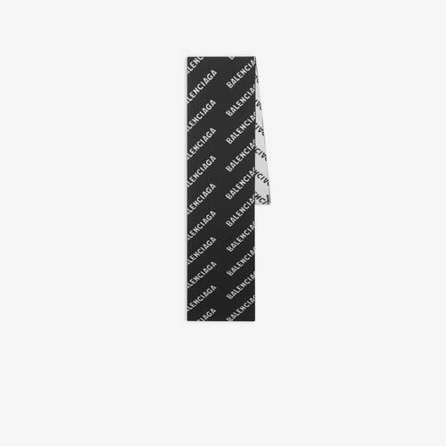 allover logo 스카프