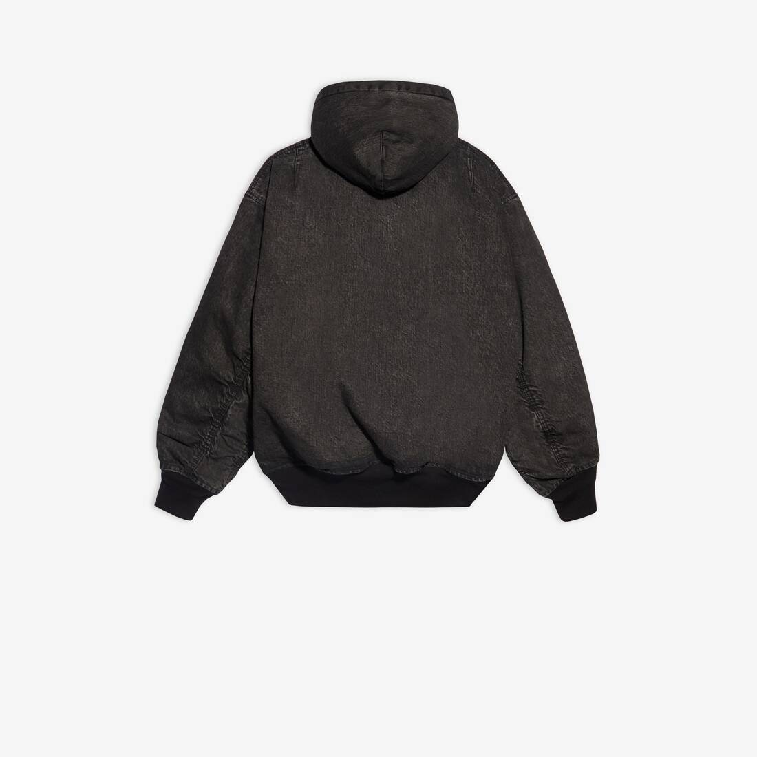 Display zoomed version of hooded bomber 2