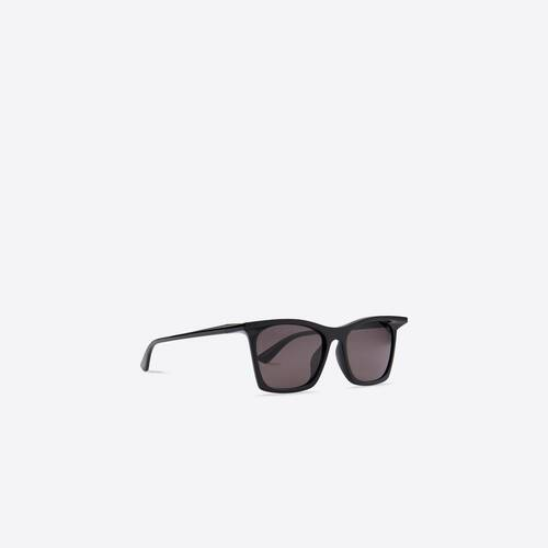 rim rectangle sunglasses adjusted fit