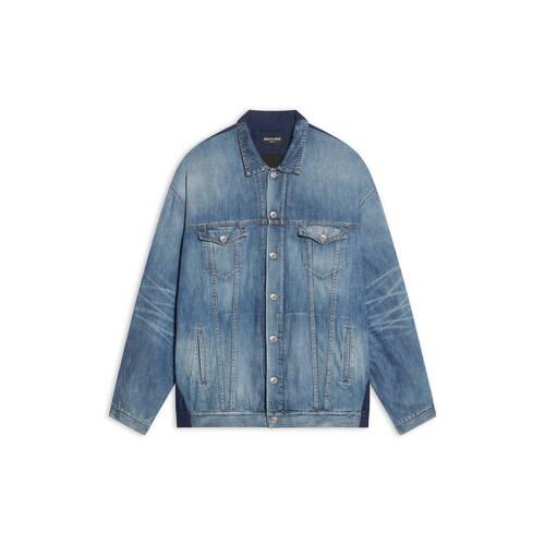 sponsor patched tracksuit jacket