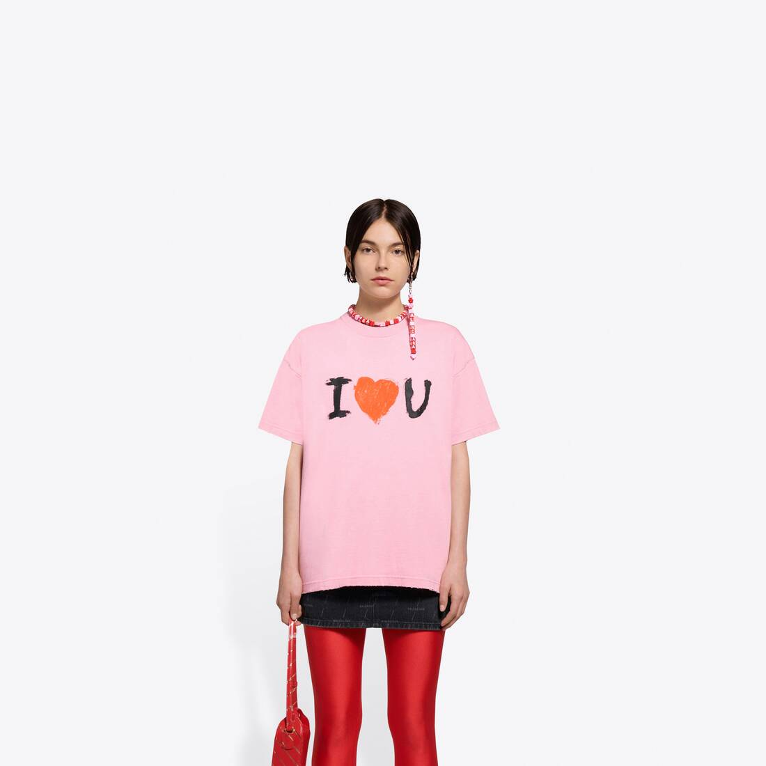 Display zoomed version of i love u medium fit t-shirt 3
