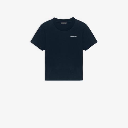 kids - balenciaga logo t-shirt