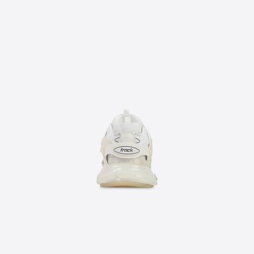 track clear sole sneaker