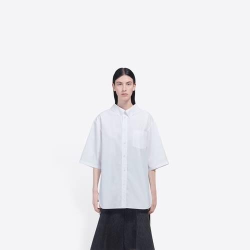 short sleeve swing shirt