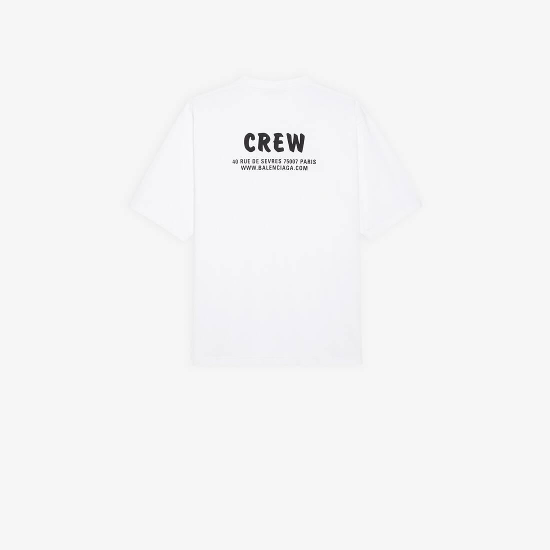 Display zoomed version of t-shirt crew dalla linea ampia 2