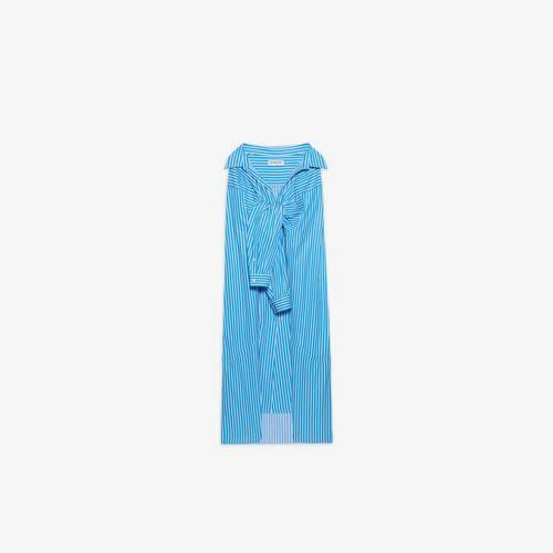 falda de vestido de camisa