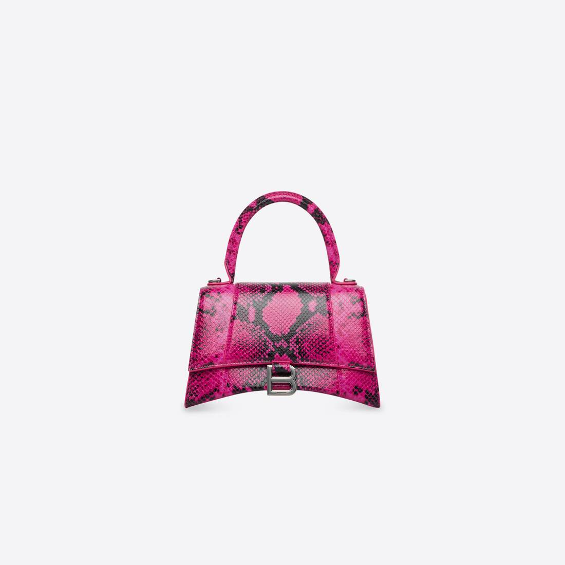Display zoomed version of hourglass small top handle bag 1
