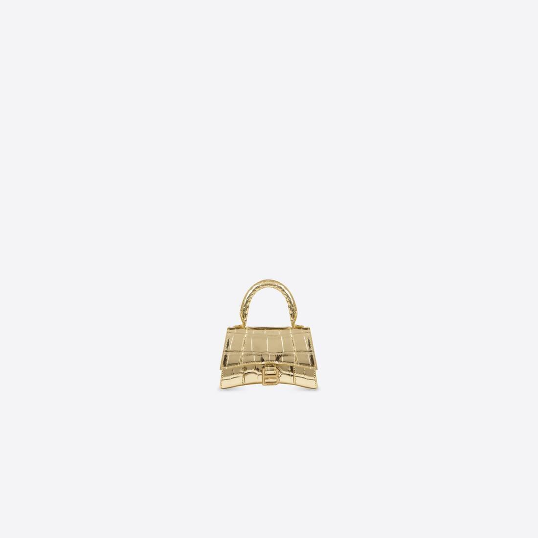 Display zoomed version of hourglass mini top handle bag 1