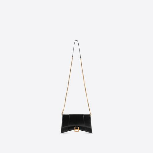 hourglass chain bag