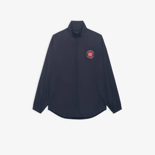 club zip-up tracksuit shirt