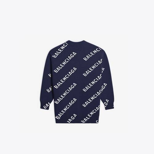 allover logo crewneck