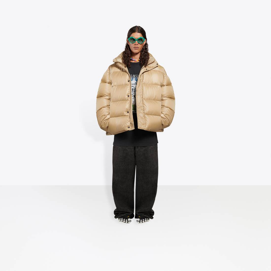 Display zoomed version of bb puffer jacket 3