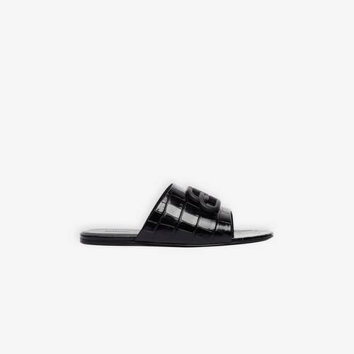 oval bb flat sandal