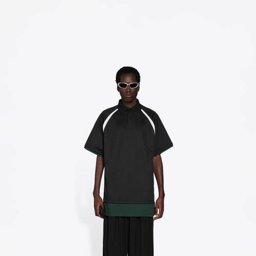 layered sport polo