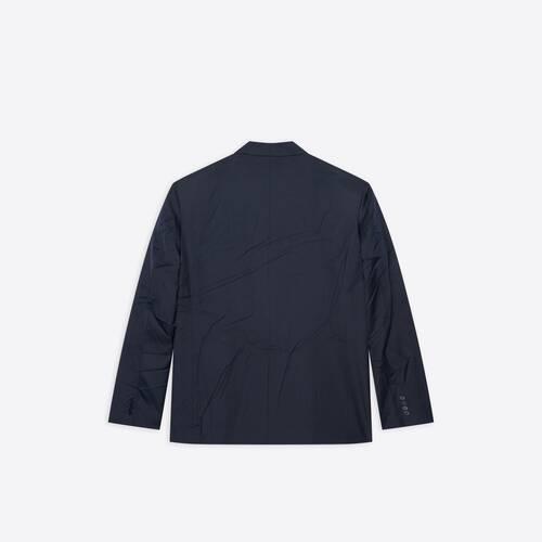 oversize single breasted jacket