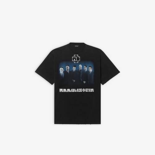 람슈타인 boxy 티셔츠