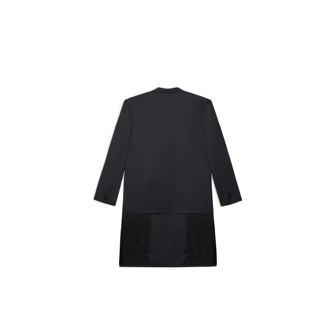 Display zoomed version of hybrid blazer coat 2