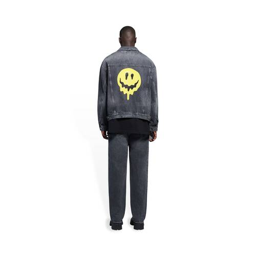 drip peace large fit jacket