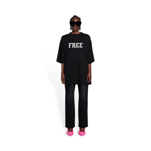 free wide fit t-shirt