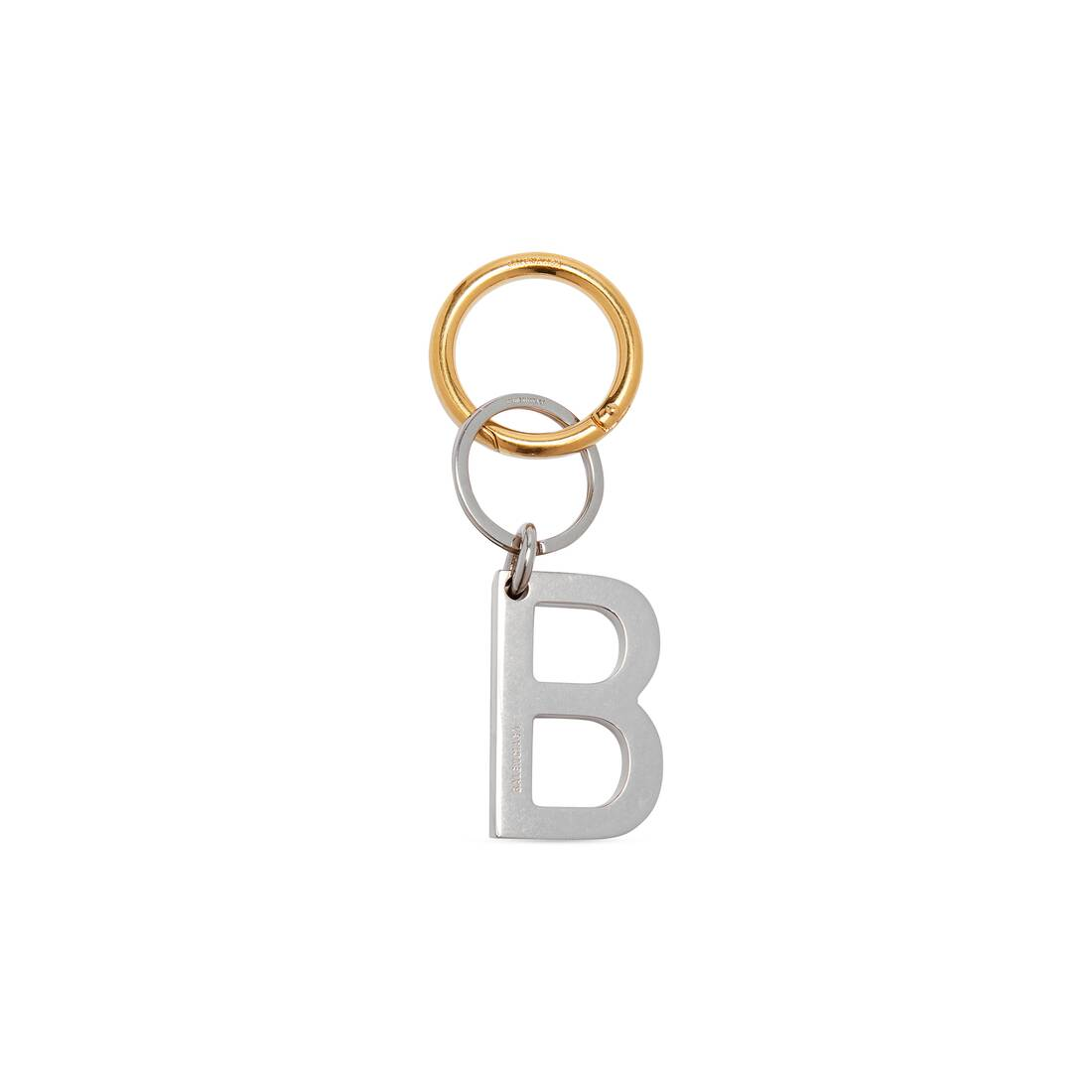 Display zoomed version of b chain keyring 1