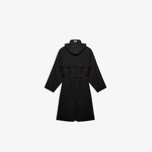 carcoat mit kapuze
