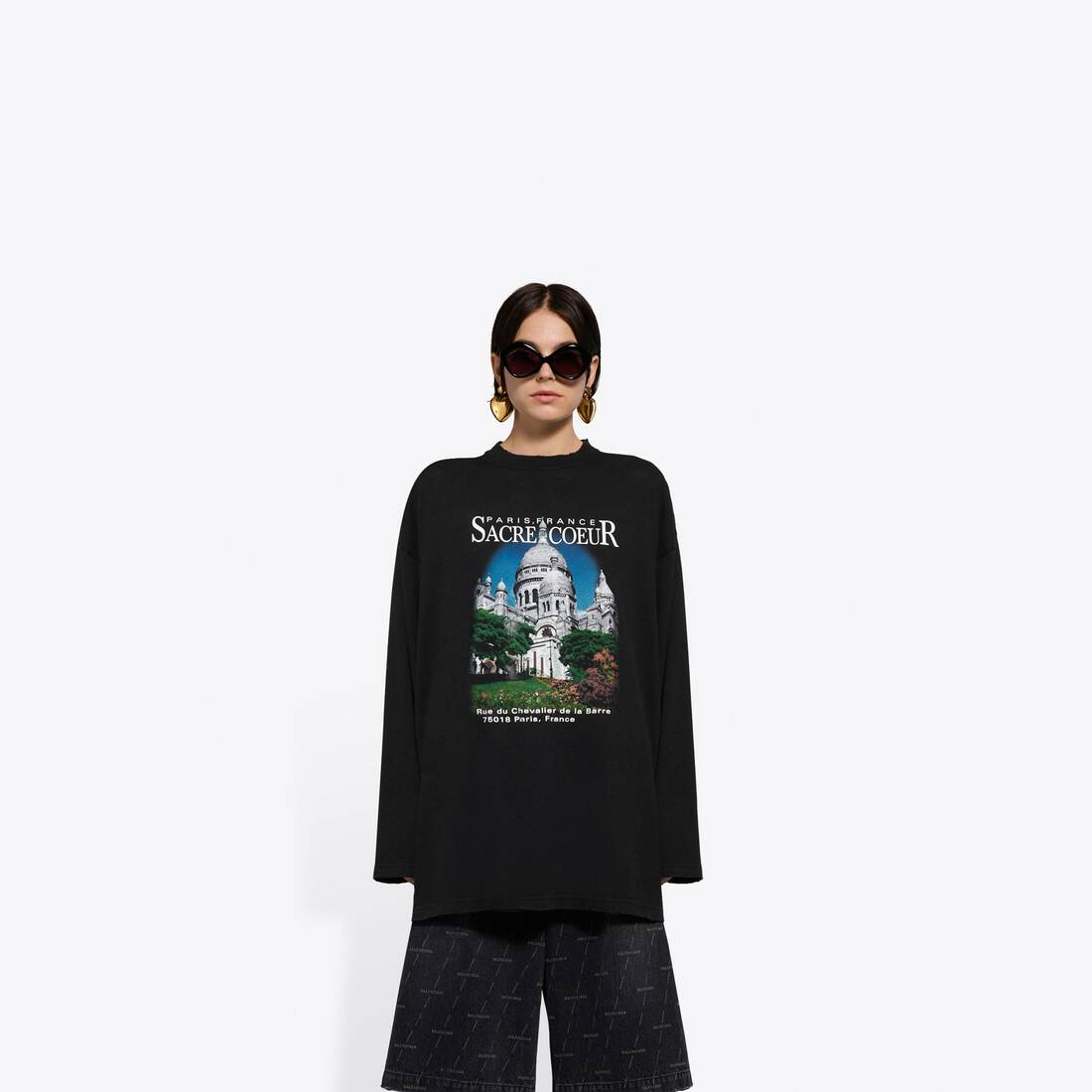 Display zoomed version of sacré cœur xl long sleeves t-shirt 3