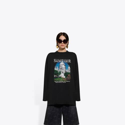 sacré cœur xl langärmeliges t-shirt