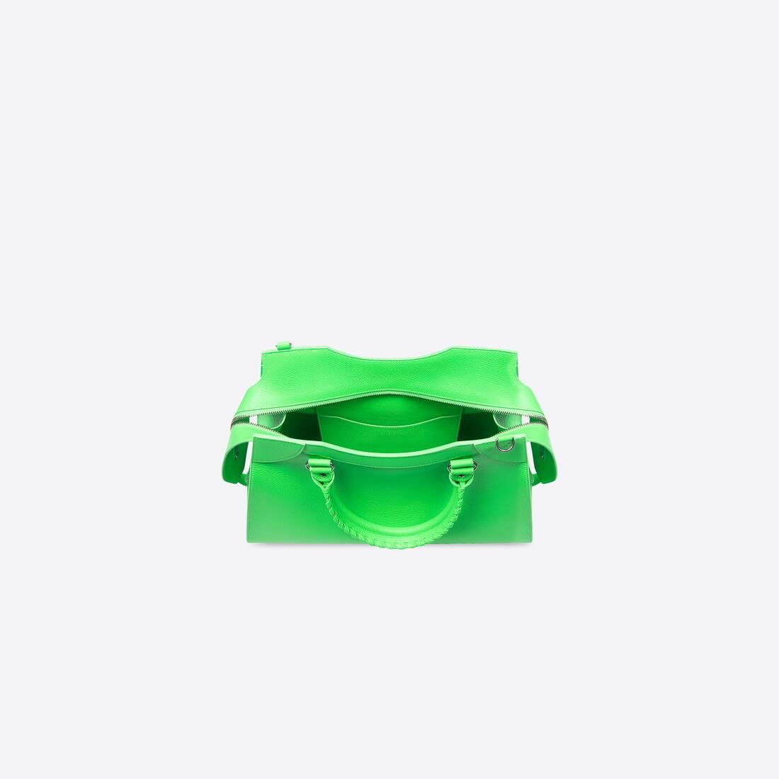 Display zoomed version of neo classic medium top handle bag 5