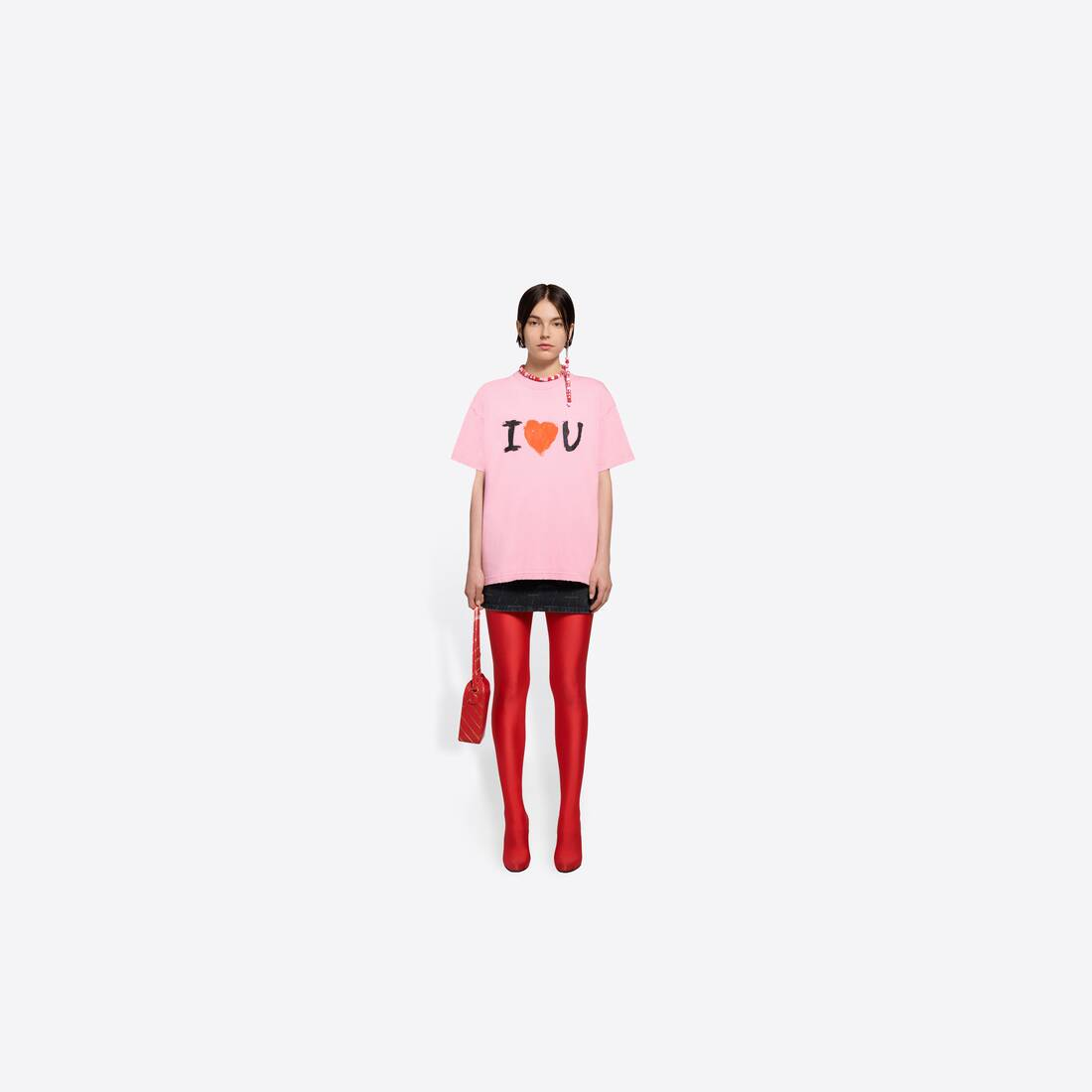 Display zoomed version of i love u medium fit t-shirt 6