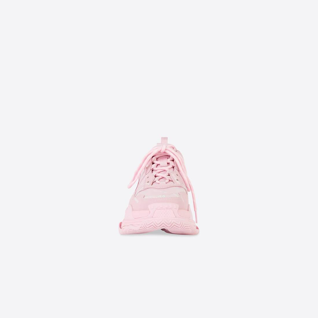 Display zoomed version of allover logo triple s sneaker 3