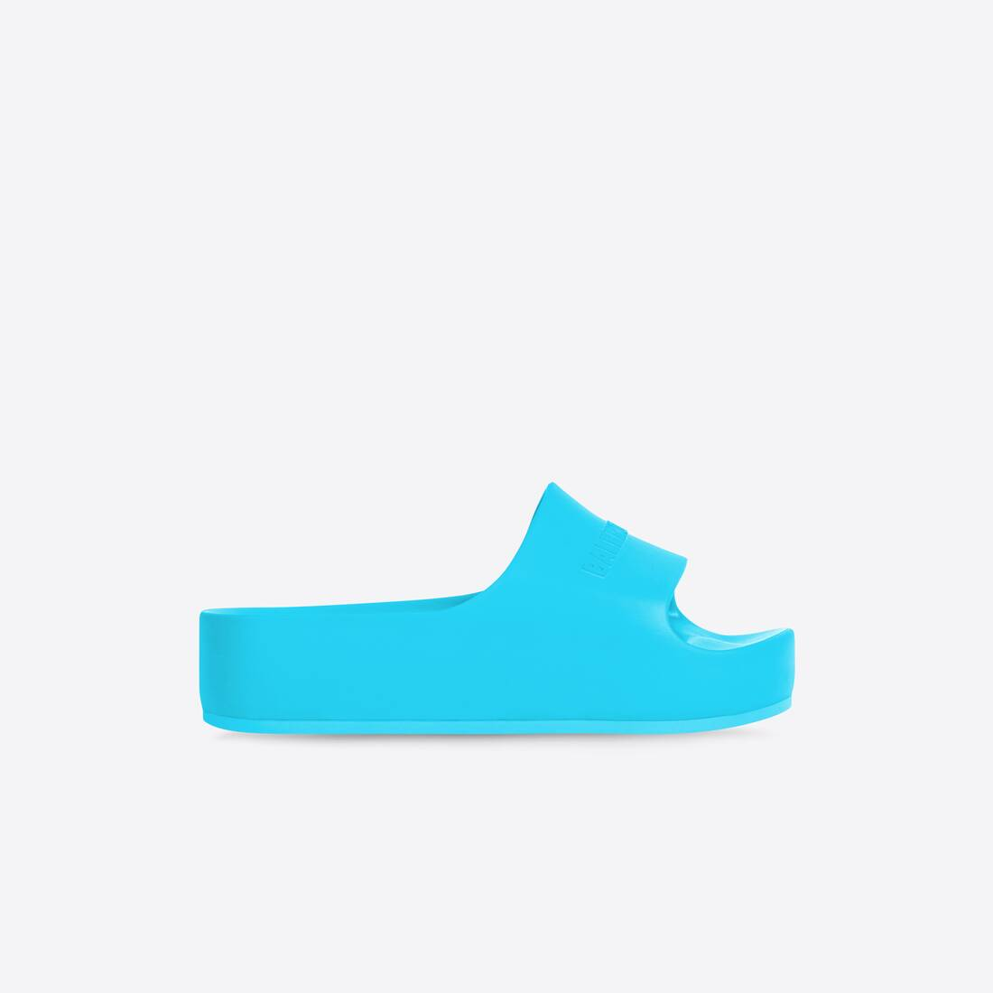 Display zoomed version of chunky slide sandal 1