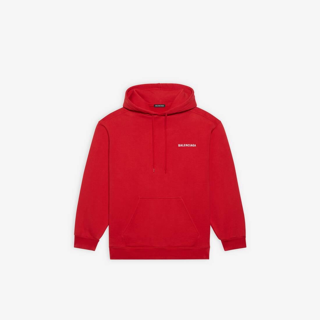 Display zoomed version of logo medium fit hoodie 1