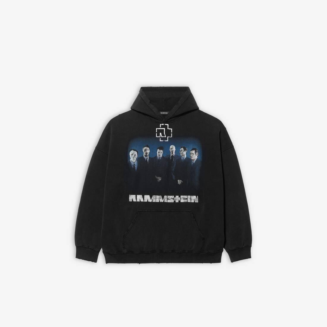 Display zoomed version of rammstein boxy hoodie 1