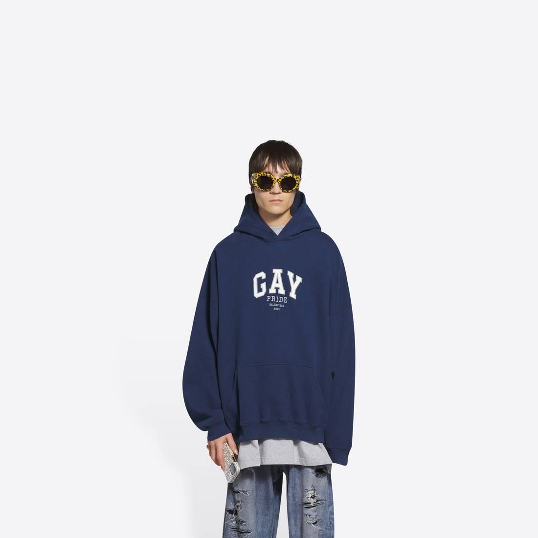Display zoomed version of pride boxy hoodie 3