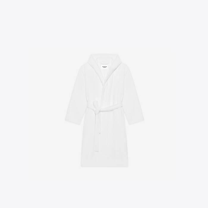 towel bathrobe