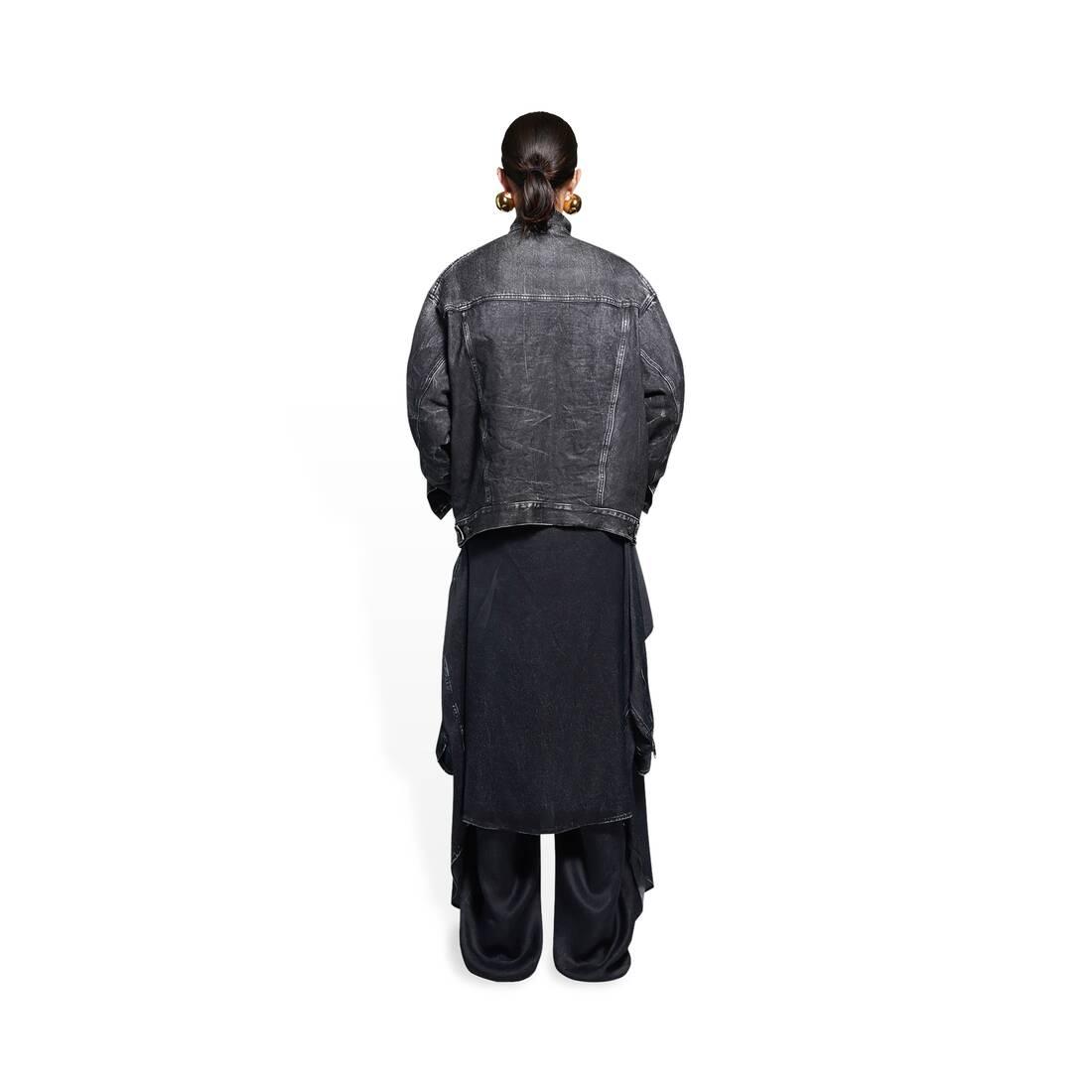 Display zoomed version of trompe-l'œil denim jacket 5