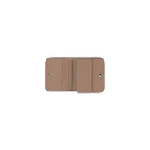 cash flap coin and card holder