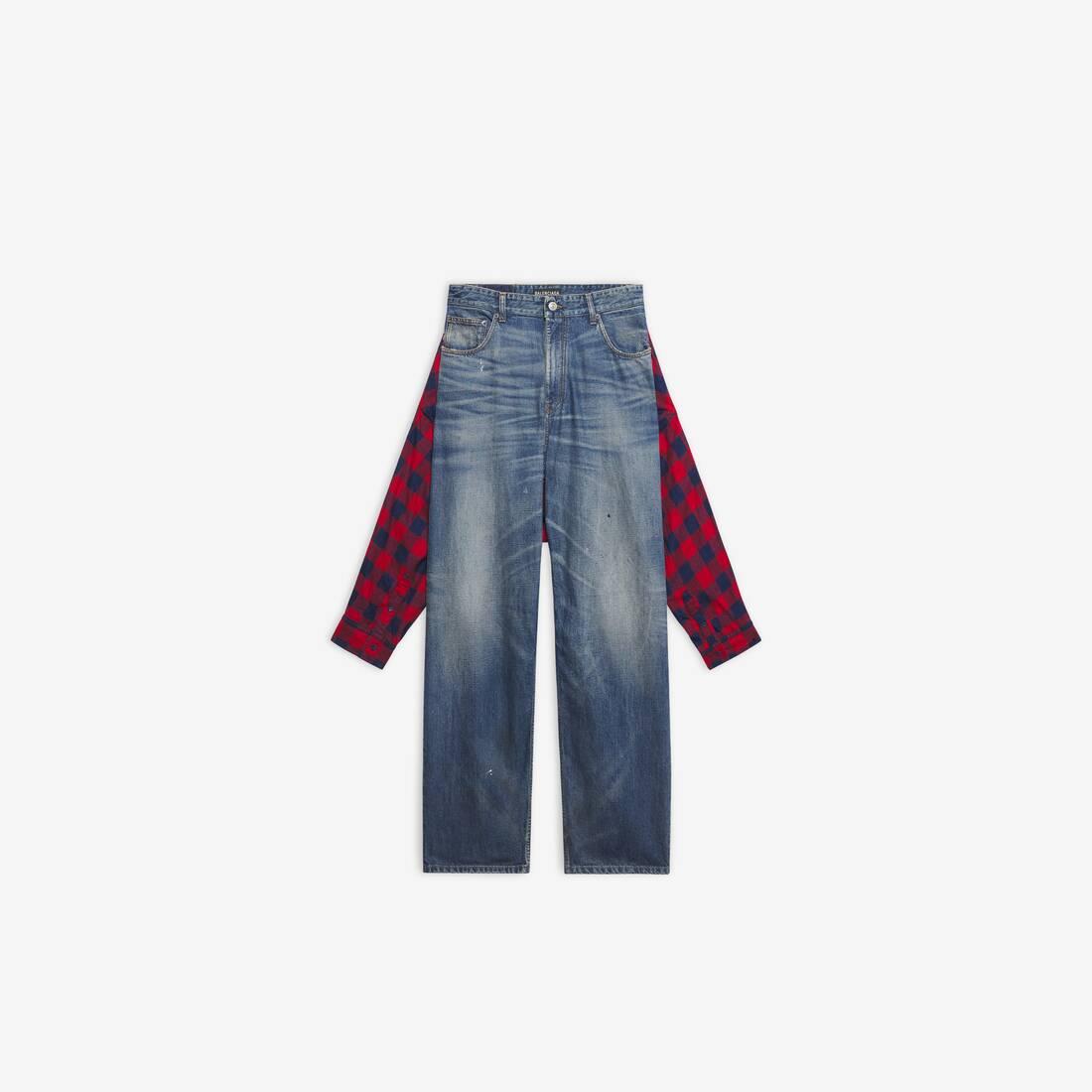 Display zoomed version of hybrid shirt pants 1