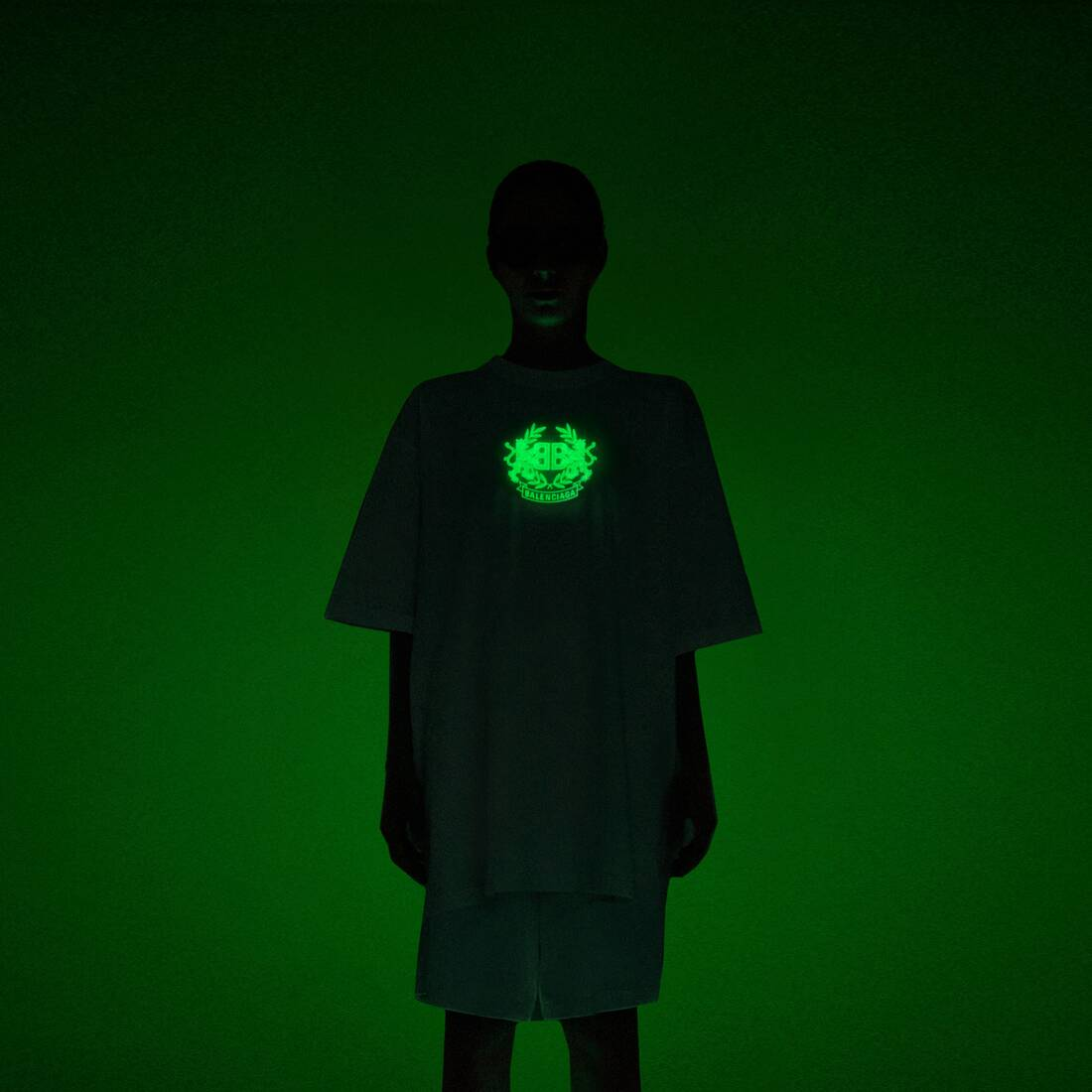 Display zoomed version of gitd lion's laurel boxy t-shirt 3