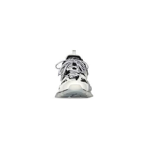 track sneaker clear sole