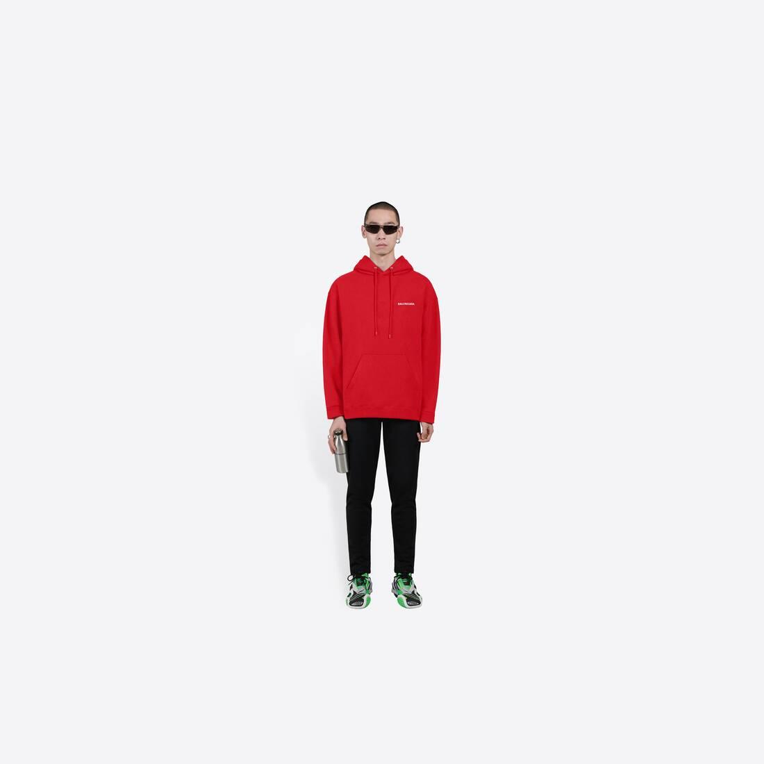 Display zoomed version of logo medium fit hoodie 6